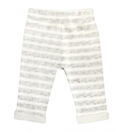 Spodnie dla chłopca z bawełny organicznej