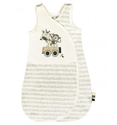 Śpiworek niemowlęcy z bawełny organicznej