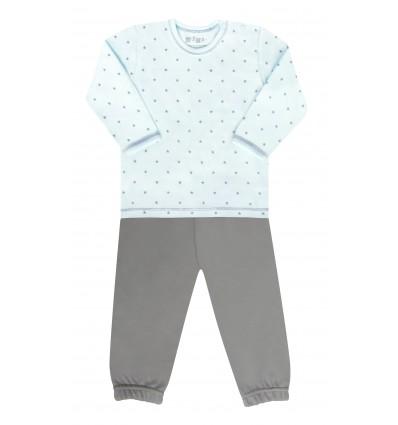 Piżama dla chłopca z bawełny organicznej