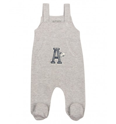 Spodnie niemowlęce dla chłopca ogrodniczki