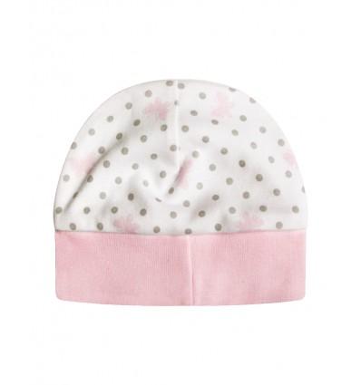 Czapka niemowlęca dla dziewczynki
