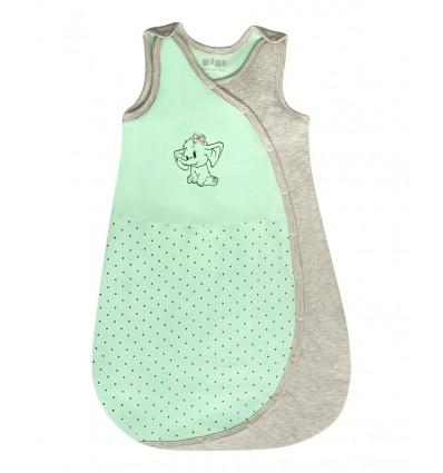 Śpiworek niemowlęcy dla dziewczynki