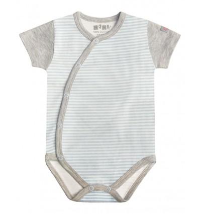 Body niemowlęce dla chłopca z krótkim rękawem
