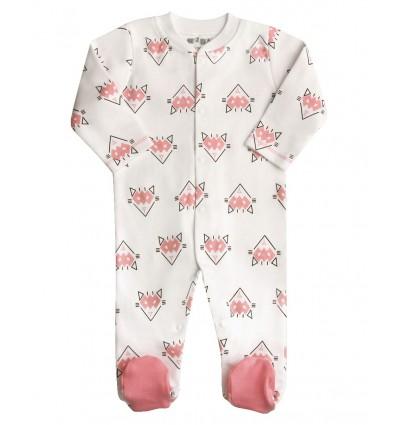Pajac niemowlęcy z bawełny organicznej