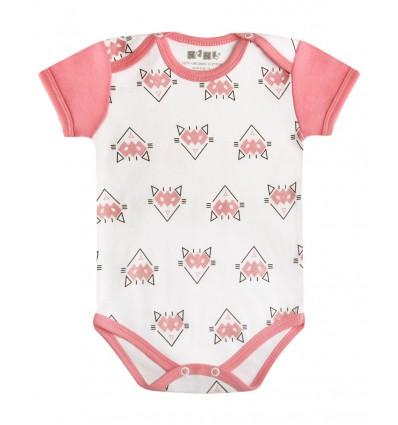 Body niemowlęce z bawełny organicznej