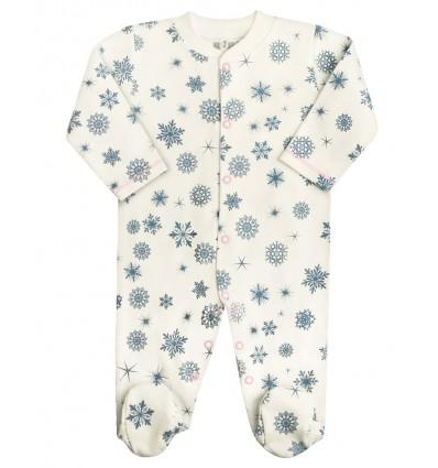 13a3d5e712951e Pajac niemowlęcy z bawełny organicznej - Escallante