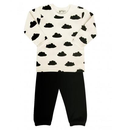 faf608e0958f25 Piżama niemowlęca z bawełny organicznej dla chłopca - Escallante