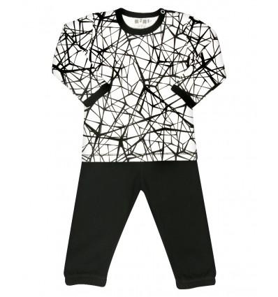 7709f6fc06d9a5 Piżama z bawełny organicznej dla chłopca - Escallante