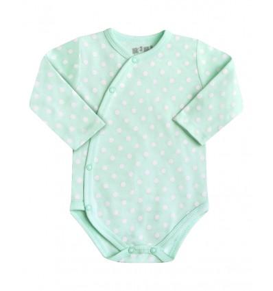 01f02427eededb Body niemowlęce z długim rękawem dla dziewczynki - Escallante