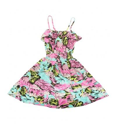 Sukienka dziewczęca na ramiączka