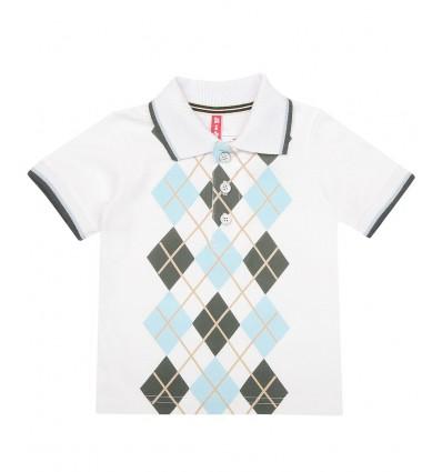 Koszulka polo z krótkim rękawem chłopięca