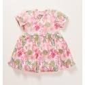 Kwiatowa sukienka PARADISE niemowlęca z bawełny organicznej