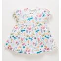 Sukienka niemowlęca OAZA z bawełny organicznej