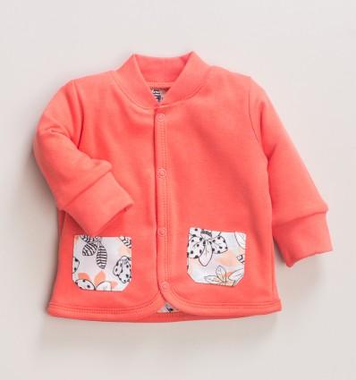 Bluza niemowlęca MAGNOLIA z bawełny organicznej dla dziewczynki