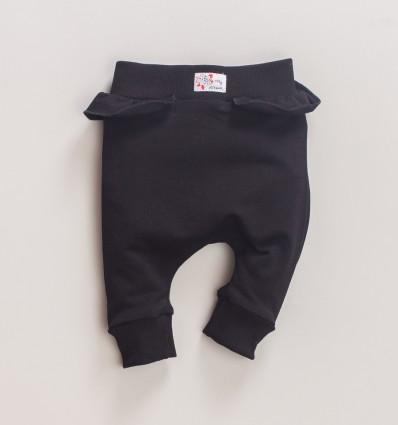 Spodnie dresowe MAGNOLIA z bawełny organicznej dla dziewczynki