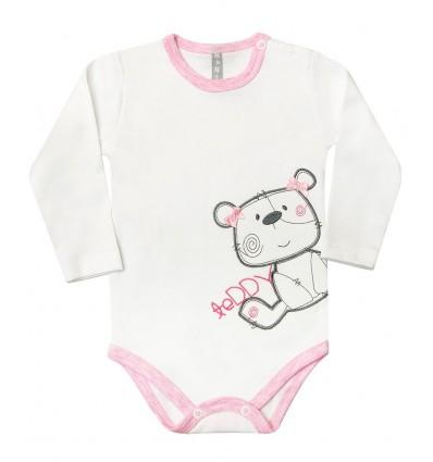 Body niemowlęce z długim rękawem dla dziewczynki