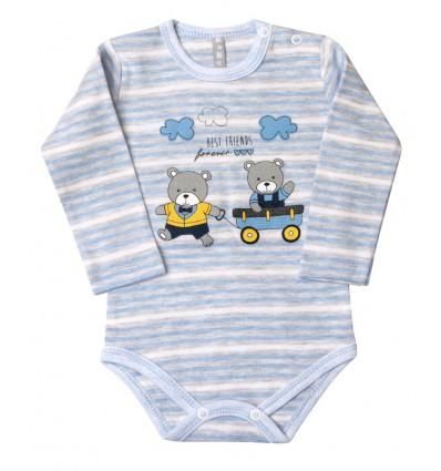 Body niemowlęce dla chłopca z długim rękawem