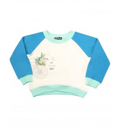 Bluza dresowa dla dziewczynki