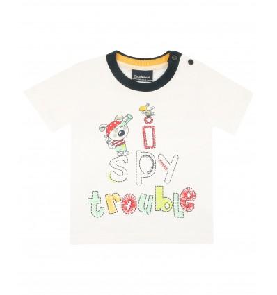T-shirt chłopięcy niemowlęcy z krótkim rękawem