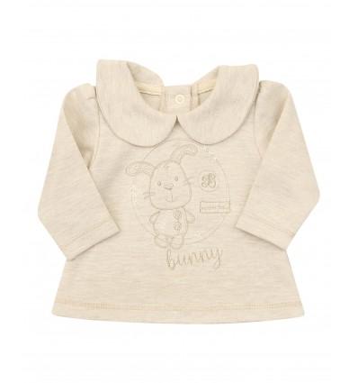 Kaftanik niemowlęcy dla dziewczynki
