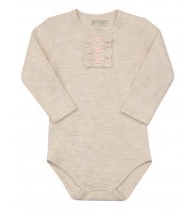Body niemowlęce dla dziewczynki z długim rękawem