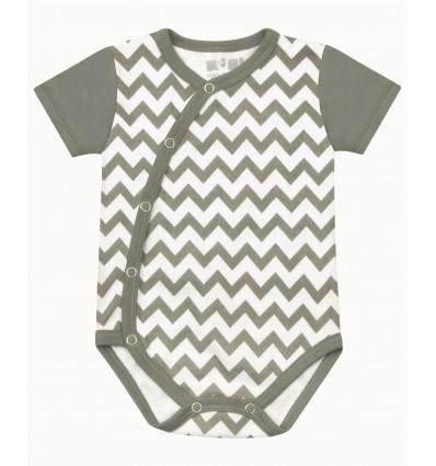 Body niemowlęce dla chłopca z bawełny organicznej