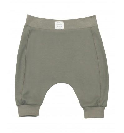 Spodnie niemowlęce dla chłopca z bawełny organicznej