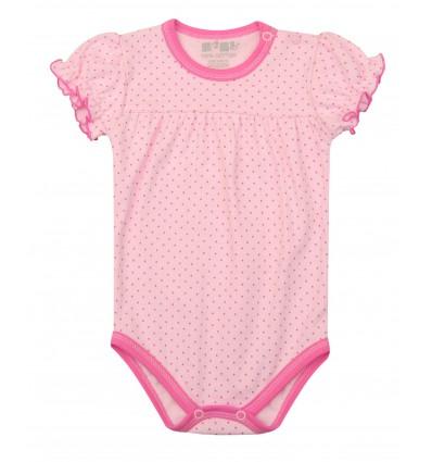 Body niemowlęce dla dziewczynki z krótkim rękawem