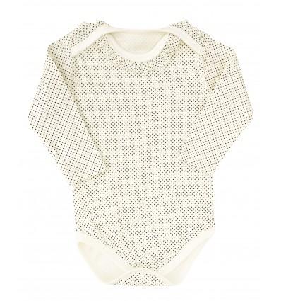 Body dla dziewczynki z bawełny organicznej