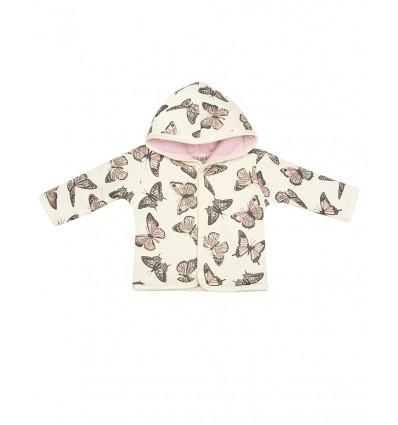 Bluza z bawełny organicznej dla dziewczynki