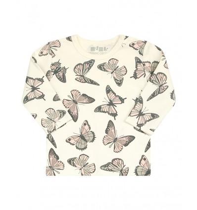 Bluzka z bawełny organicznej dla dziewczynki