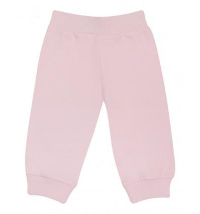 Spodnie z bawełny organicznej dla dziewczynki