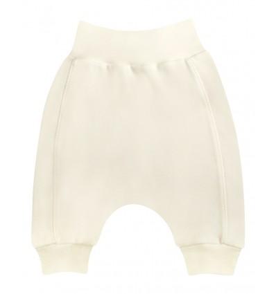 Spodnie dla dziewczynki z bawełny organicznej